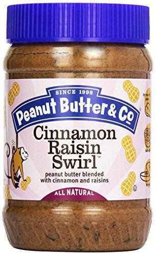 Peanut Butter & Co. - Cinnamon Raisin Swirl Peanut Butter Blended With Cinnamon And Raisins - 16 Oz.