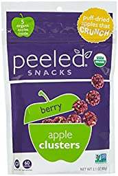 Peeled Snacks Berry Crunch Apple Clusters - 2.1 oz - 3 pk