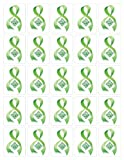 Green Ribbon Stickers By Qramel &#8211; Interactive Programmable Stickers &#8211; Creative Way to Promote Awareness of Various Causes and Boost Fundraising Reviews