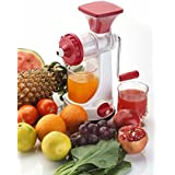 Ganesh Fruits & Vegetable Juicer With Steel Handle Multicolor (Improved Quality)