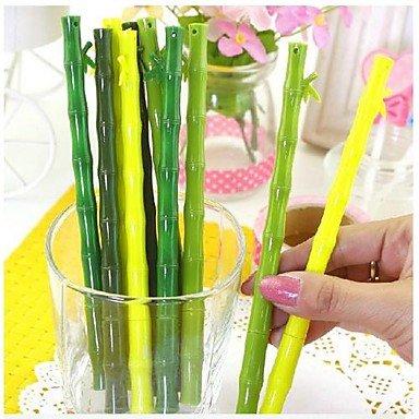 LWW Realista Bamboo Diseño Negro Tinta Gel Pen
