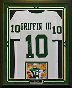 Robert Griffin III Autographed & Framed Baylor Jersey