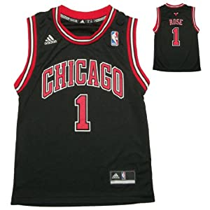 NBA CHICAGO BULLS ROSE #1 Youth Athletic Jersey Top by NBA