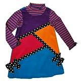 Bonnie Jean Little Girls' Ribbon Color Block Jumper Set