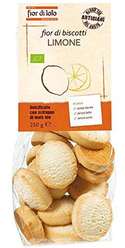 Fior di Loto Fior di Biscotti Al Limone - 250 gr