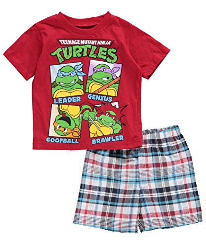 "Teenage Mutant Ninja Turtles Baby Boys' ""Character Types"" 2-Piece Outfit"