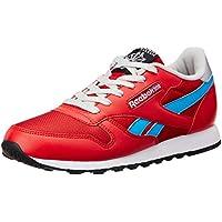 Reebok Women's Classic Protonium W Lp Red, Blue, Silver, White and Black Sneakers  - 5 UK/India (38 EU)(7.5 US)