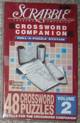Scrabble Crossword Companion Roll-A-Puzzle System Refills