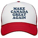 Make Canada Great Again Hat: Snapback Mesh Trucker Hat