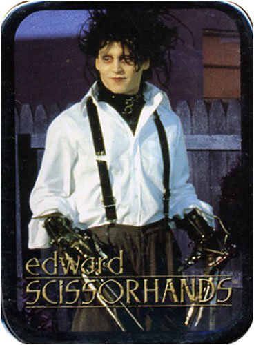 Edward Scissorhands Playing Cards in a Stash Box Tin - 1