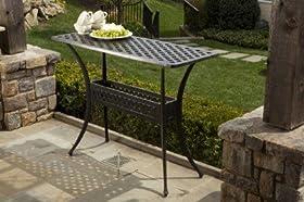 Elegant Alfresco Home Cast Aluminum Outdoor Sideboard Console Table price