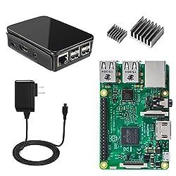Raspberry Pi 3 Basic Starter Kit--Black Case Edition By Vilros