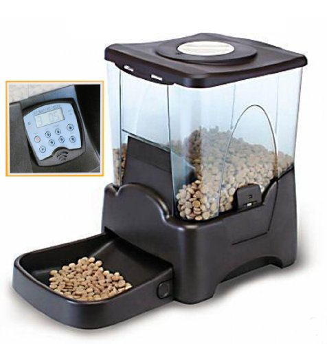 Large Automatic Pet Feeder Electronic Programmable Portion Control Dog Cat Feeder w/ LCD display Picture