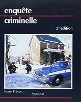 Enquete Criminelle 2e ed