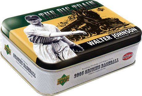 2005 Upper Deck Origins Baseball HOBBY Tin Box – 20 Cards