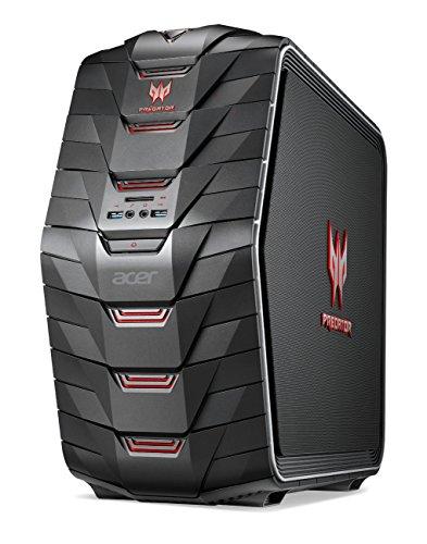 Acer Predator AG6-710 - Ordenador de sobremesa (Intel Core i7 6700K, 64 GB de RAM DDR4, disco de 512 GB SSD + 4 TB HDD, Nvidia GTX980 a 4 GB DDR5, teclado y ratón gaming, Windows 10) negro
