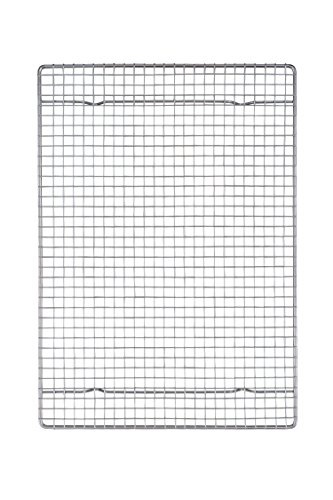 Mrs. Anderson's Baking Professional Half Sheet Baking and Cooling Rack, Heavyweight Chrome, 16.5-Inches x 11.75-Inches (Wire Rack And Pan For Baking compare prices)