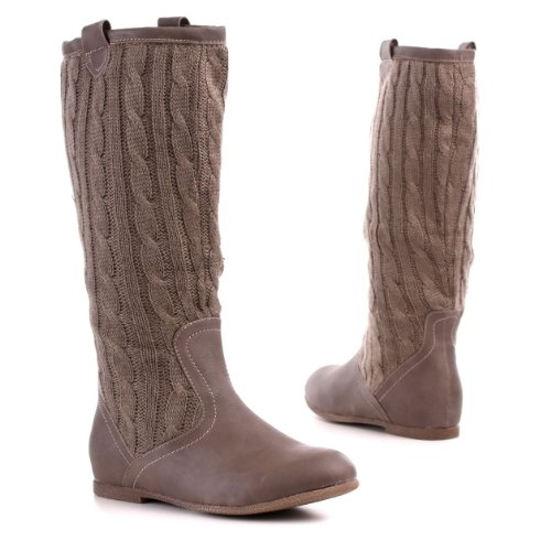 Womens Shoes, Boots, Synthetic high-quality leather
