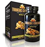 Premium Turmeric Curcumin with Black Pepper- 95% Curcuminoids (Extract), 2,000% Increased Bioavailability, 500mg/capsule. Premium Quality All Natural Pain Reliever, Anti-Depressant, Powerful Anti-Inflammatory & Antioxidant Protects From Free Radical Damage. Vegan. No Preservatives. Highly Effective & Suggested for Overall Health. Certified GMP Facility. Made in USA.