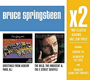 X2:Greetings from Asbury Park/The Wild,Innocent & The E Street Shuffle