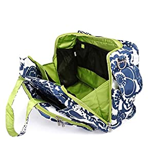 Bundle -2 Items:Ju-Ju-Be Be Prepared Diaper Bag - Cobalt Blossoms & Bella B Honey Bum 2 oz by Ju-Ju-Be & Bella B