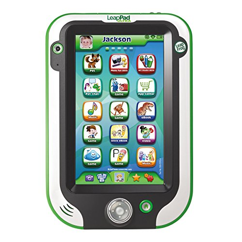 Leapfrog Leappad Ultra Kids' Learning Tablet, Green front-62857