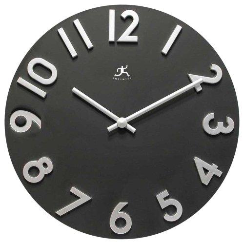 Infinity Instruments Harmonious Time Wall Clock