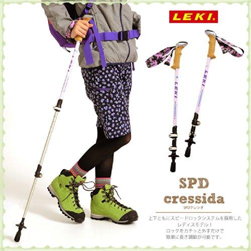 LEKI(レキ) トレッキングポール SPD2クレシダ(レディース) 227ピンク 1300321