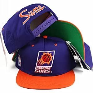 Buy Vintage Sports Specialties Script Phoenix Suns Snapback Hat by Sports Specialties