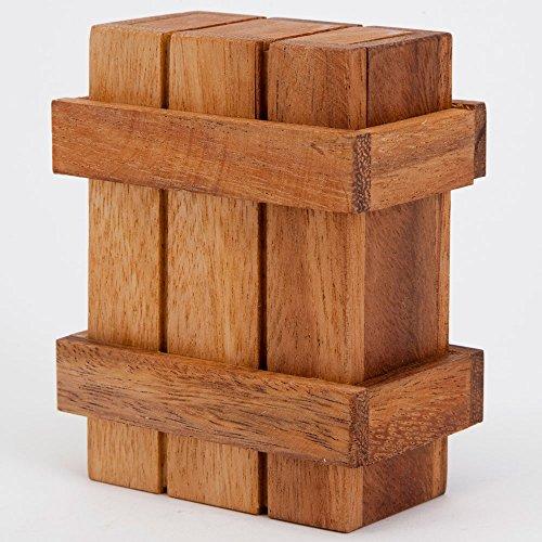 Wooden Magic Money Holder Gift Box Brainteaser Brainteaser Fun Money Puzzle Box Money Holder Box Measures 1 7 8 X 2 3 4 X 3 7 8