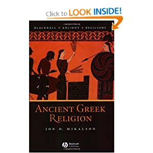 Amazon.com: Ancient Greek Religion (Blackwell Ancient Religions ...