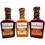 Bundle - 3 Items: Cattlemen's Carolina Gold, Mississippi Honey, and Kansas City Classic (1 Each)