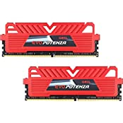 GeIL EVO POTENZA 16GB 2 X 8GB 288-Pin DDR4 SDRAM DDR4 2400 PC4 19200 Desktop Memory Model GPR416GB2400C16DC