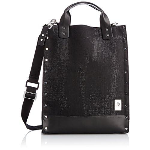 [ディーゼル] DIESEL メンズ バッグ RUGH EDGESKLIMBA - handbag X02859P04160071UNI P0416H5413 (ブラック/)