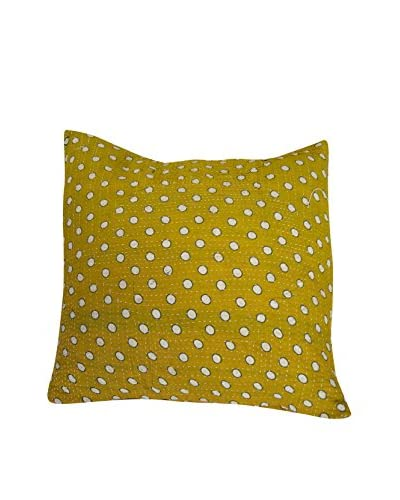 bambeco One-of-a-Kind Kantha Pillow, Multi
