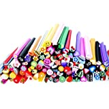 Premium MASH 100 Pc Nail Art Nailart 3d Manicure Design Sticks Rods Stickers Gel Tips ~ MASH