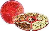 Nanson Plastic Dry Fruits Candy Tray