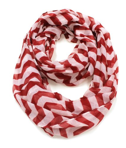 Как сделать полосатый шарф