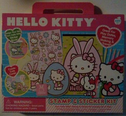 Hello Kitty Stamp & Sticker Kit