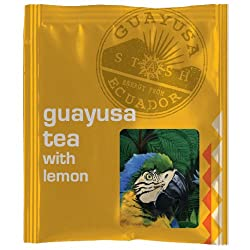Guayusa Tea with Lemon