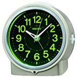 SEIKO CLOCK(セイコークロック) 自動点灯集光文字板アナログ目覚まし時計(薄金) KR886G