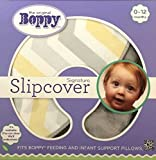 Boppy Pillow Slipcover, Luxe Gray Chevron
