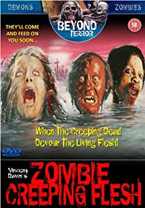 Zombie Creeping Flesh (Beyond Terror) [DVD]