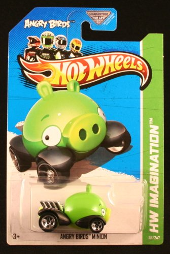 Hot Wheels HW Imagination 2012 HW Premiere Angry Birds Minion 35/247