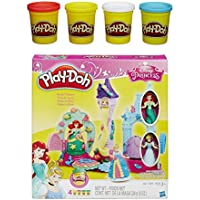 Play Doh Royal Palace Featuring Disney Princess And Extra Play Doh 4 Pack Of Colors 20oz Bundle Of 2 Items
