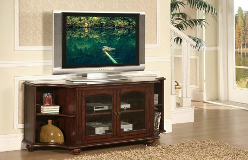 Cheap Home Elegance 8059-T Piedmont 60in TV Stand in Cherry (8059-T)