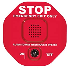 Safety Technology  International STI-6400 Exit Stopper Multifunction Door Alarm, Helps Prevent Unauthorized Exits or Entries Through Emergency Doors