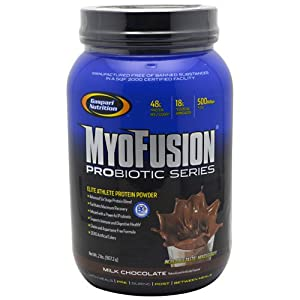 Gaspari Nutrition - Myofusion Probiotic Series Milk Chocolate, 2 lb powder