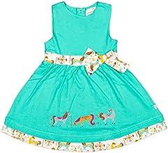 Origany Little Girls39 Merry-Go-Round Border Print Dress