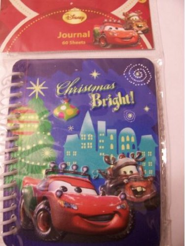 Disney Cars Raised Journal ~ Christmas Bright! ~ 2 Pack - 1